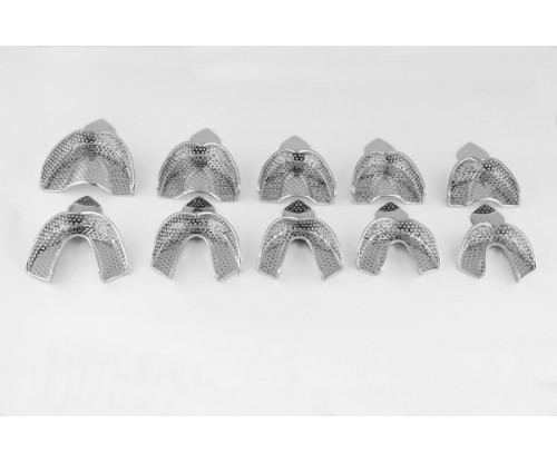 Impression Tray- Dentulas Perforated