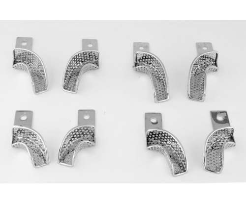 Impression Tray- Partial Perforated
