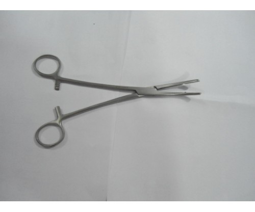 "Heany Hyst. Forcep 8.5"" CRD."